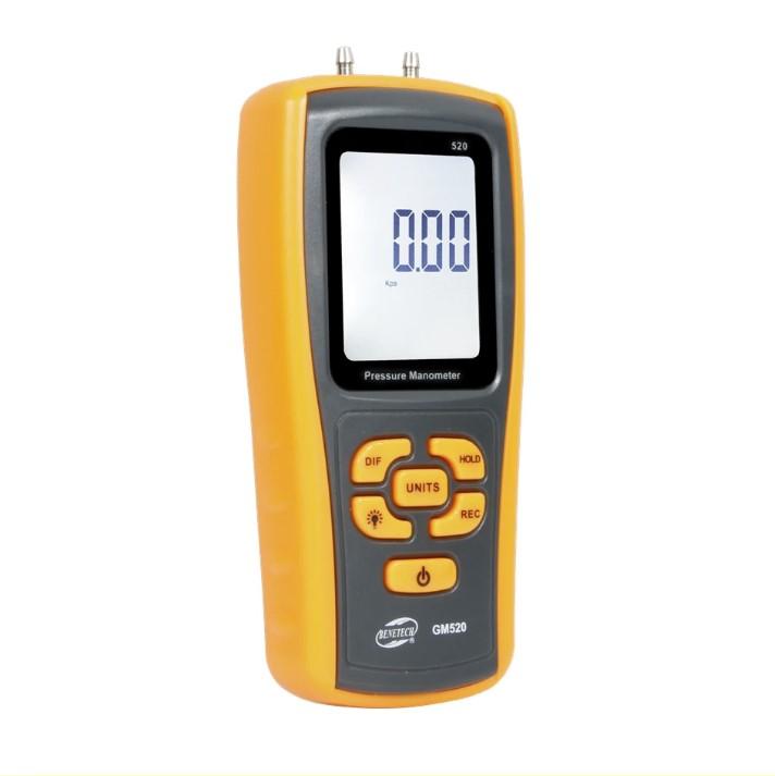 Дифманометр Benetech GM520