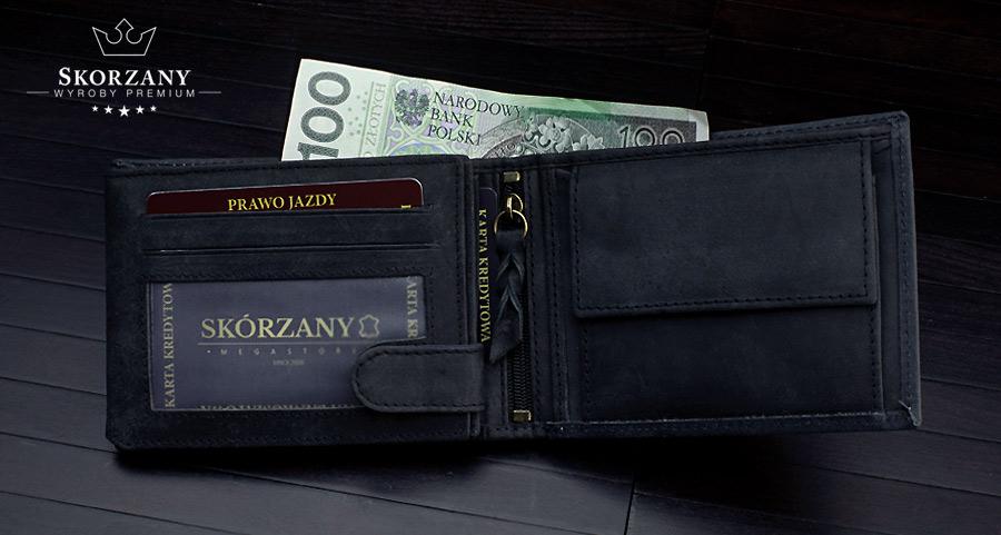 wnętrze portfela Loren
