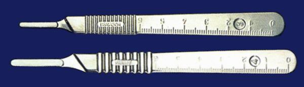 Скальпель-держатель Paragon (рукоятки металлические многоразовые для хирургических лезвий)
