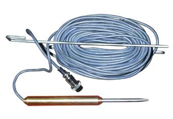 Зонд погружаемый для вязких жидкостей (ЗПГТ.3, с длиной кабеля 3м, возможно изготовление с длиной кабеля 5, 7, 10, 15, 20м.)