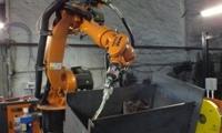 сварка котлов роботом Kuka