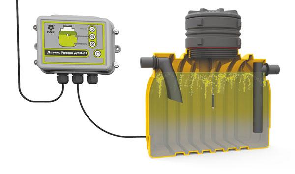 Датчик уровня масла ДУМ-01.