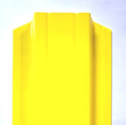 штакетник Баррера ― желтый 1018