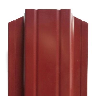 евроштакетник ― красный 3005