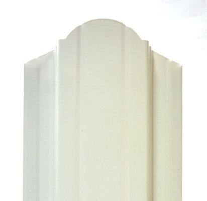 штакетник Баррера ― белый 9003