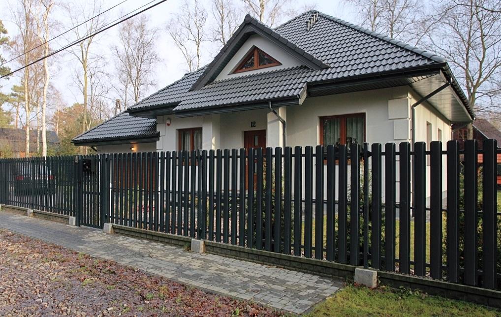 Евроштакетник металлический на забор
