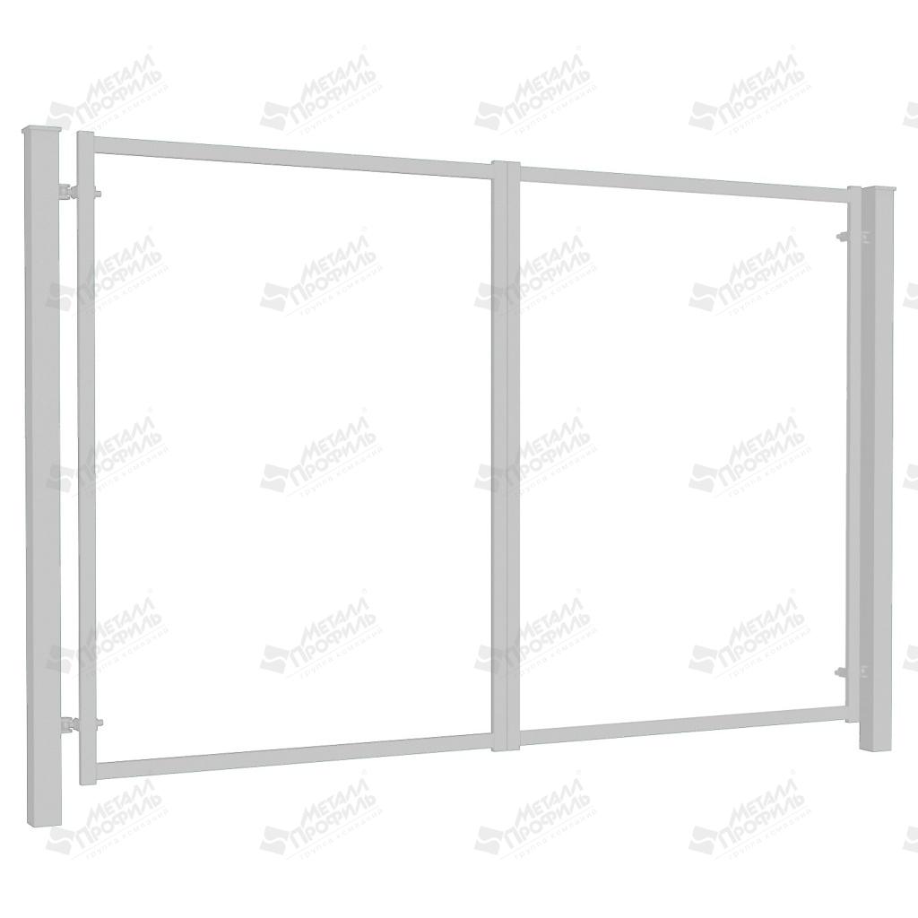 Ворота распашные без заполнения 3500х1800 (ПО-01-7035).jpg