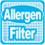 АНТИАЛЛЕРГЕННЫЙ ФИЛЬТР. Фильтр дезактивирует пыльцу, клещей и аллергены от шерсти домашних животных и других загрязнителей.