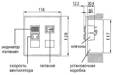 Пульт ДУ (PZ-03SLP-E)