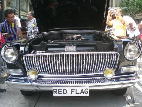 Автомобиль FAW Red Flag 1974 года.