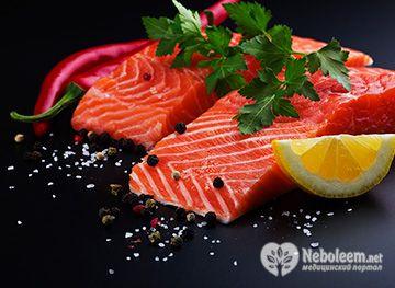 Калорийность лосося варьируется от 100 до 208 ккал в 100 г