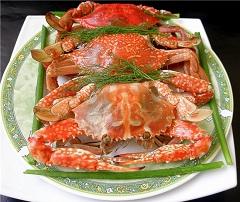 Отварные крабы - деликатесный морепродукт