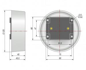 Датчик термосопротивление ДТС3005. Конструктивное исполнение