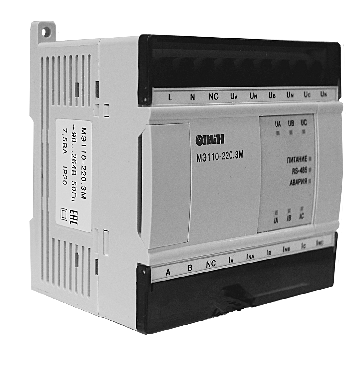 Модуль ввода параметров электрической сети МЭ110-224.3М