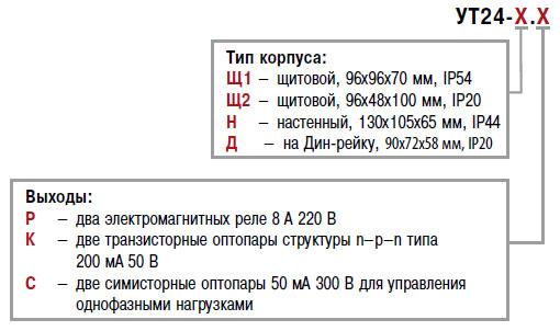Микропроцессорное реле времени двухканальное ОВЕН УТ24