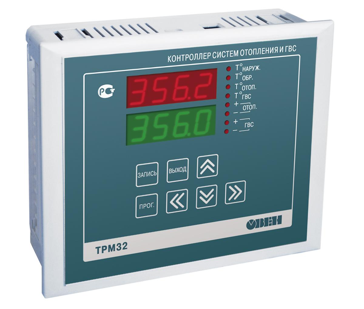 Промышленный контроллер ТРМ32 в корпусе Щ7