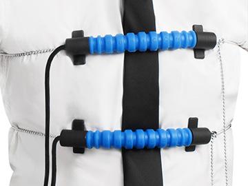 Розташування датчика распираторной активності дихання - модель ДХ ПН-1