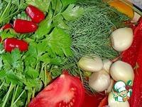 """Универсальный томатный соус """"Сацебели"""" ингредиенты"""