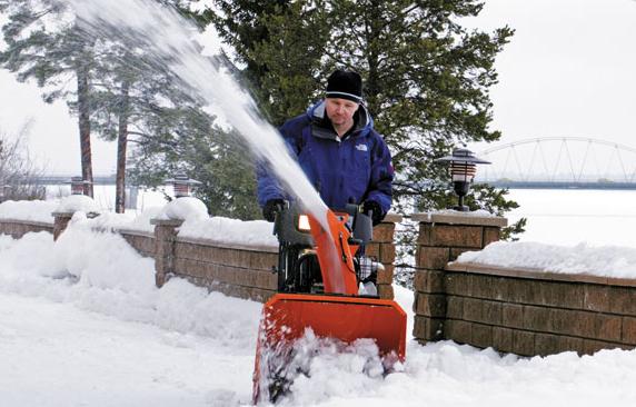 Снегоуборщики Husqvarna (Хускварна) прошли испытания в самых суровых климатических условиях