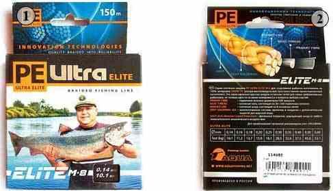 Плетеные шнуры Aqua PE Ultra Elite M-8-Тестирование спиннинговых снастей на нижней Волге