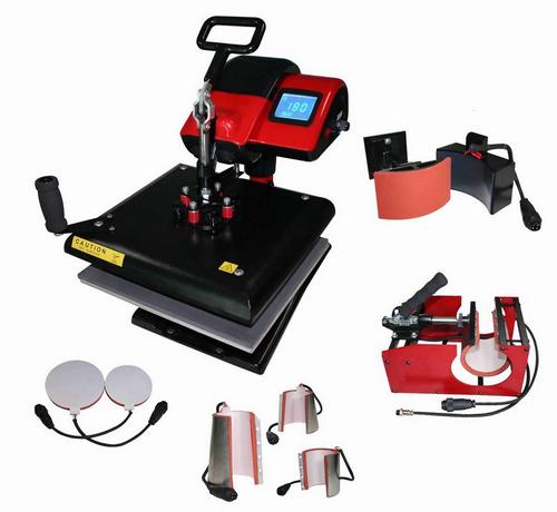 Использование термопресса для выпуска сувенирной продукции. Система непрерывной подачи чернил СНПЧ RDM