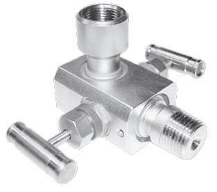 Двухвентильный клапанный блок серии Е