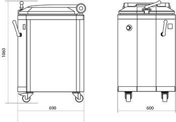 Тестоделители гидравлические DIV и DIV-R
