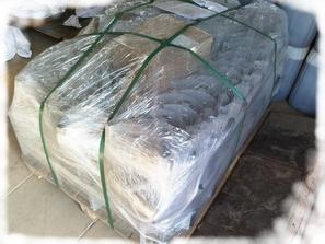 Центрирующее кольцо ОНК упаковано для транспортировки. Фото.