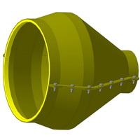 Укрытия герметизирующих манжет производства Синергия нефтегаз. 219*426