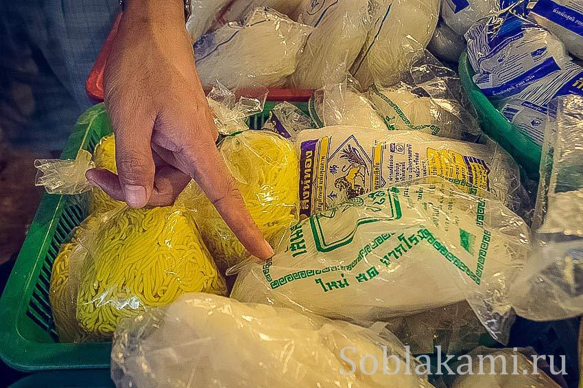 лапша для Пад Тая, Тайская кухня