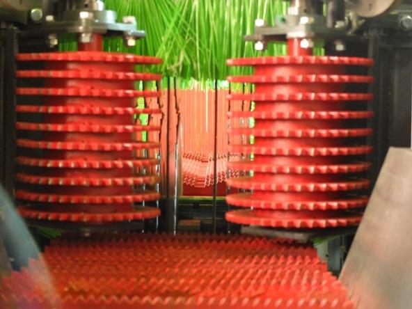 Конструкция рябух брусовального двухвального станка с гусеничной подачей мод. «KRAFTER»