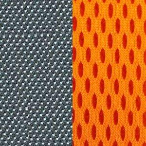 серая/оранжевая