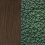 зеленая/ дерево венге
