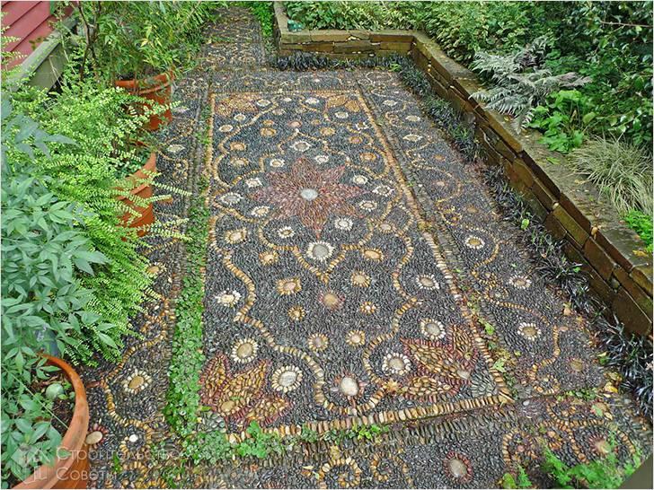 Мозаичная дорожка