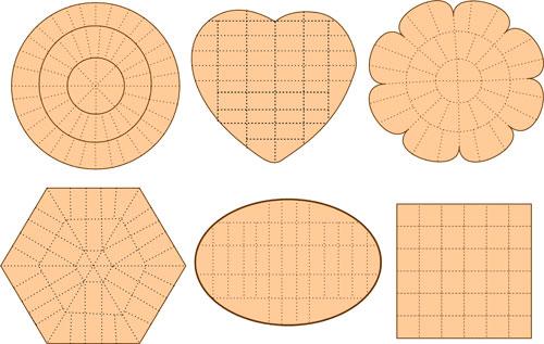 Схемы разрезания тортов различной формы. Свадебные лопатки для торта, или как разрезать свадебный торт.