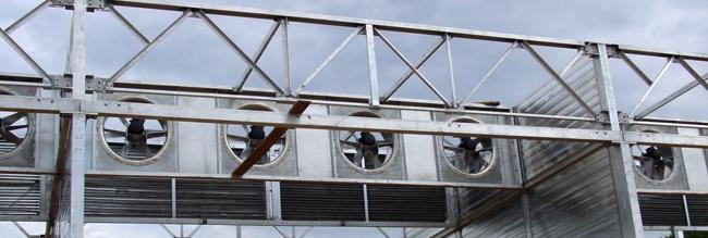 Вентиляторная стенка сушильной камеры для древесины