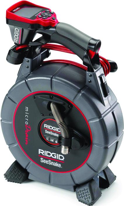 Инспекционная промышленная видеосистема SeeSnake microDrain с цифровой инспекционной камерой micro CA-300 RIDGID