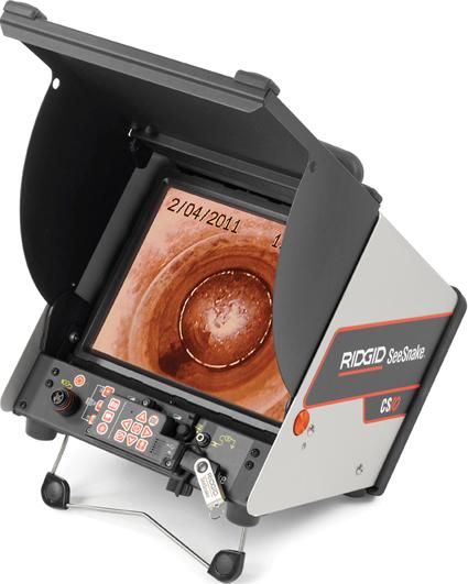 Цифровой записывающий видеомонитор CS-10 RIDGID