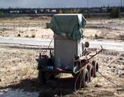 ЗЕВС-37 на базе самоходной тележки (очистка наружных трубопроводов водоснабжения)