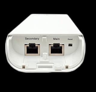NanoStationM2 вид порта