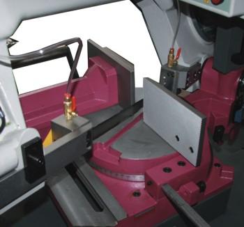 Ленточнопильный станок Opti S310DG Vario: вращающийся круглый стол