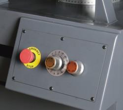 Ленточнопильный станок Opti S350DG: регулировка скорости подачи