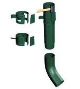 Установка водосточной трубы