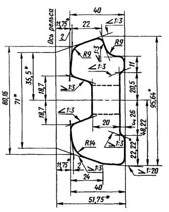 чертеж Накладки Р 43
