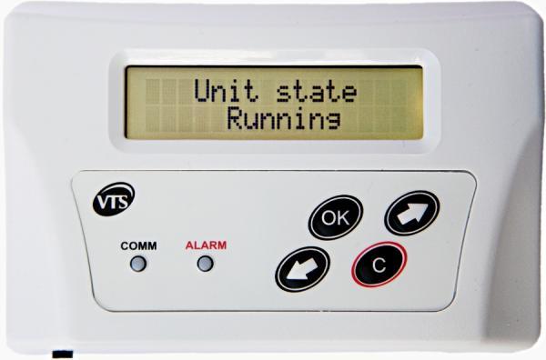 Упрощенный интерфейс пользователя HMI OPTIMA VS