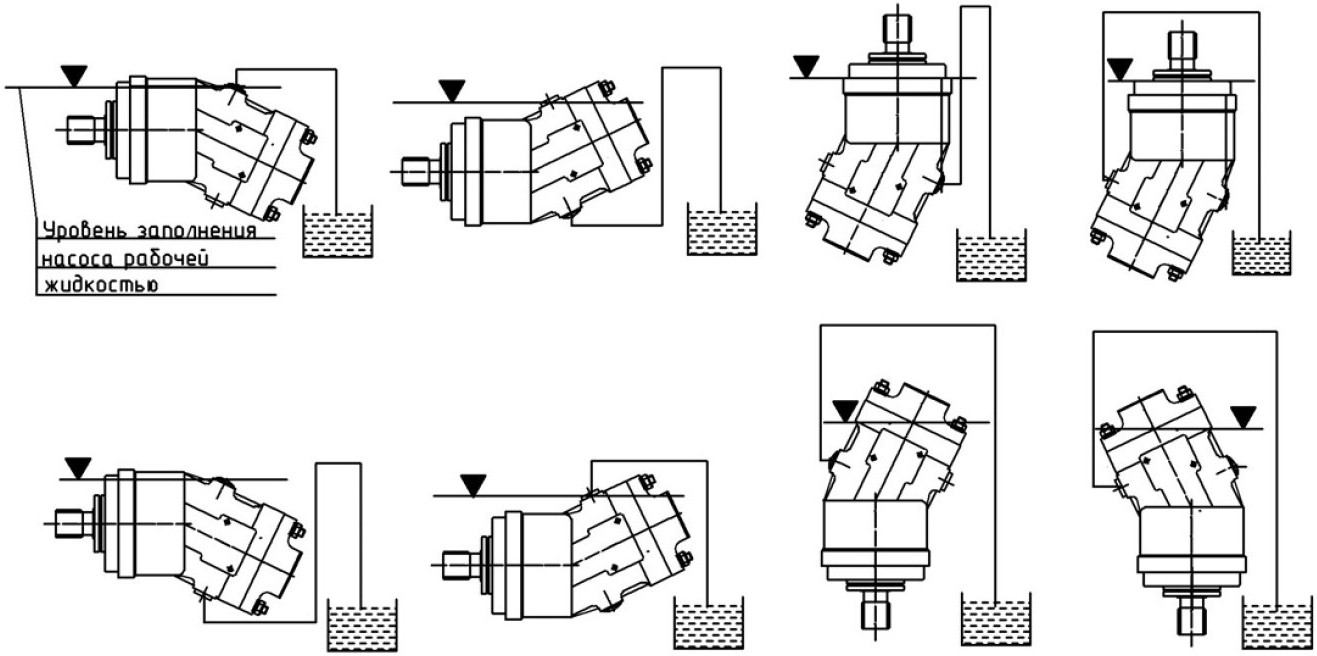 310.4.56.03.06 Рисунок 21 Схема монтажа дренажного трубопровода