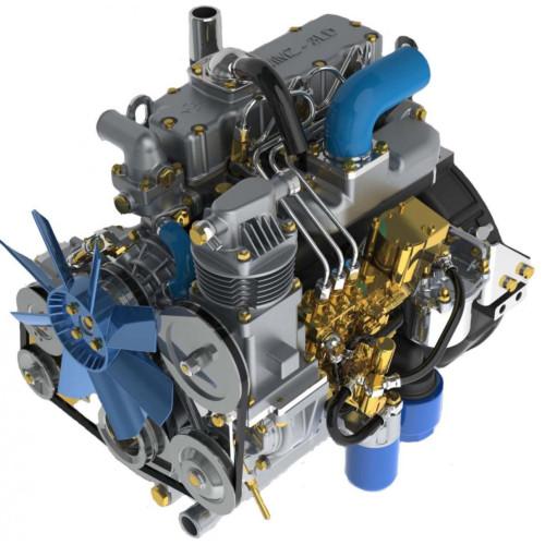 Двигатели ММЗ-3лдт