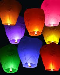 Небесные фонарики на свадьбу- зрелищно и красиво